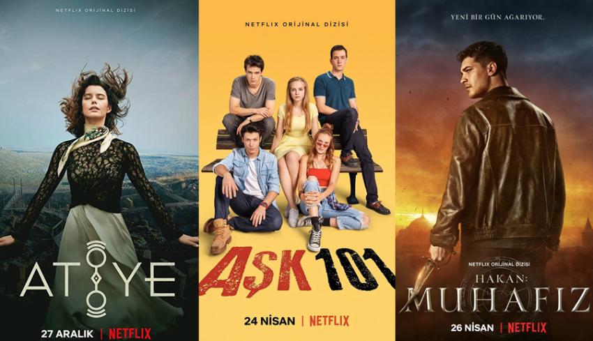 Netflixte Yayınlanan Türk Dizileri 2020 - 2021